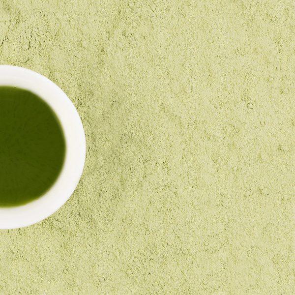 Японский зеленый чай матча с имбирем