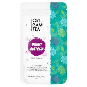 "Sweet Matcha with Brown Rice ""ORIGAMI TEA"", 50г"