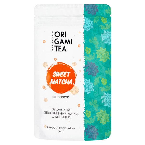 """Sweet Matcha Cinnamon """"ORIGAMI TEA"""", 50г"""