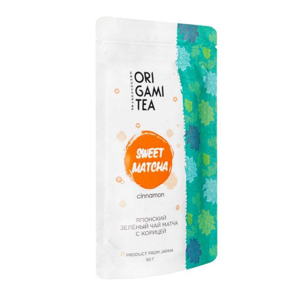 "Матча с корицей ""ORIGAMI TEA"", 50 грамм"